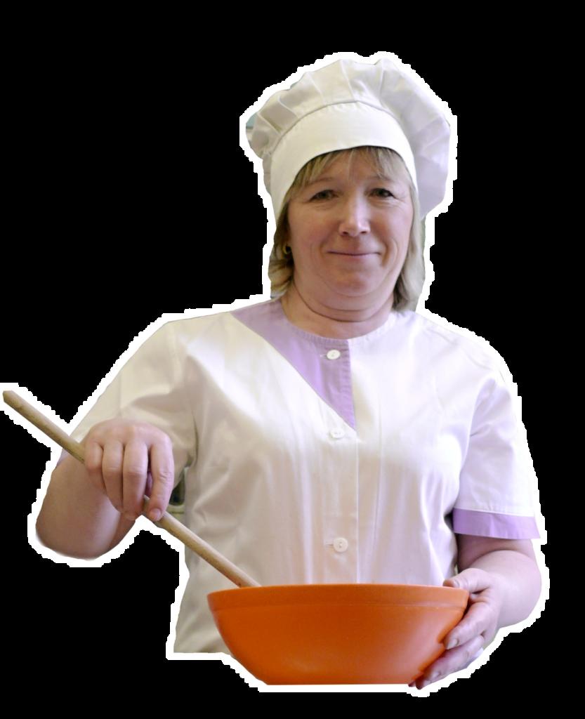 Naše paní kuchařka Zdenka